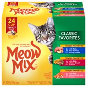 Meow Mix Classic Favorites Variety Pack, 2.75-Ounce Cans (Pack of 24)