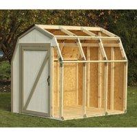 2x4 Basics Barn Roof Shed Kit