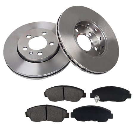 [Front Kit] 300.3mm Brake Rotors & Ceramic Pads For Honda Odyssey Acura MDX