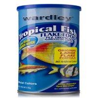Wardley Tropical Fish Flake Food, 3 oz