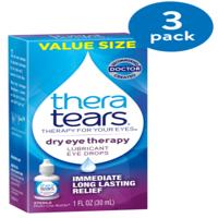 Thera Tears® Dry Eye Therapy Lubricant Eye Drops 1 fl. oz. Bottle