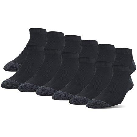 - Men's Half Cushion Low Cut Socks, 12-Pack