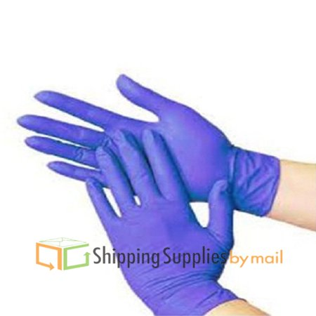 Blue Nitrile Examination Gloves, Non Latex, Powder Free, Multi-purpose, Disposable Medium (Pack of