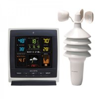 Acurite 00622M Pro Color Weather Station with Wind Speed (Dark Theme)