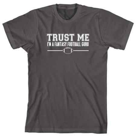 Trust Me I'm A Fantasy Football Guru Men's Shirt - ID: (Purple Mens Football Jersey)