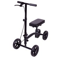 Carex Knee Scooter with Padded Knee Seat Knee Walker Crutches Alternative