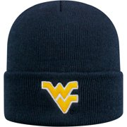 37f94307fd0a4 Men s Russell Navy West Virginia Mountaineers Team Cuffed Knit Hat - OSFA
