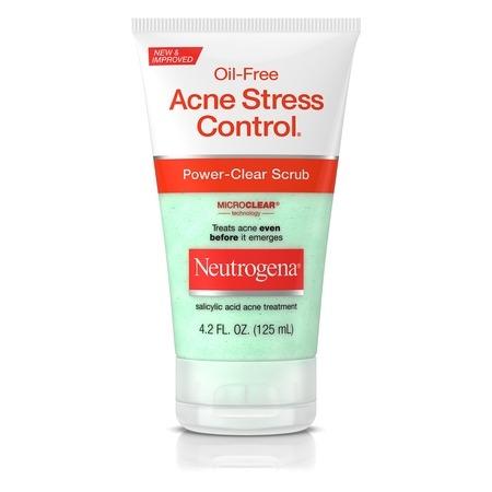 Neutrogena Oil-Free Acne Stress Control Power-Clear Scrub, 4.2 fl. oz