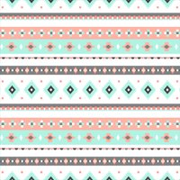 "David Textiles Anti-Pill Fleece Bohemian Diamond Stripe Fabric By The Yard 60"""