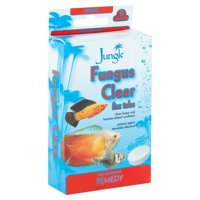 (2 Pack) Jungle Fungus Clear Tank Buddies Fizz Tabs, 8-Count