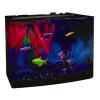 GloFish 3-Gallon Aquarium Starter Kit with Power Filter & LED