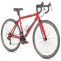 "GMC 19"" 700c Adult, Denali Road Bike, Red"