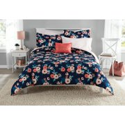 Mainstays Garden Floral Bed in a Bag Bedding Set