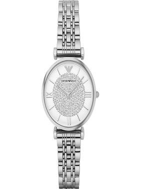 Emporio Armani Women's Retro Stainless Steel Quartz Watch AR1925
