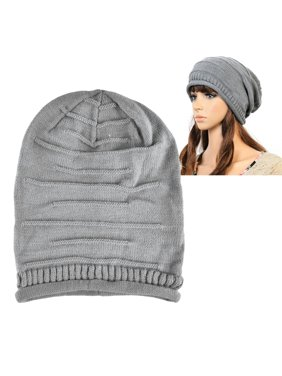 Product Image Zodaca Womens Beanie Hat slouchy Beanie Crochet Knit Soft Hat  Cap Winter Warm Ladies Girls Mens 2edaf0317ca8