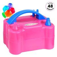 Portable Dual Nozzle Electric Balloon Pump 600W 110V Balloon Blower Air Pump