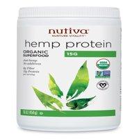 Nutiva Organic Hemp Protein, 16 Oz, 15 Servings