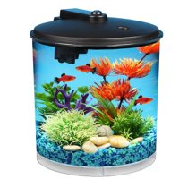 Hawkeye 2-Gallon Aquarium Starter Kit with Power Filter and LED