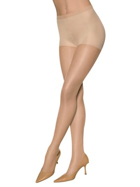 Sheer Energy Medium Support Control Top Pantyhose, 2 Pack - Style 65206