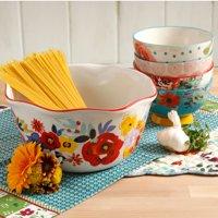 The Pioneer Woman Flea Market 5-Piece Salad Bowl Set