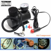 300 Psi Dc 12v Portable Mini Air Compressor Pump Auto Car Electric Tire Inflator For
