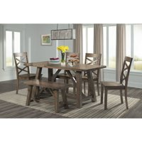 Picket House Furnishings Regan 6 Piece Rectangular Dining Table Set