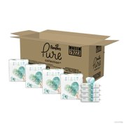 Pampers Pure Collection with Diapers and Wipes (Choose Diaper Size)