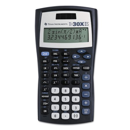 Texas Instruments TI-30X IIS Scientific Calculator, 10-Digit (Weight Watchers Points Calculator)