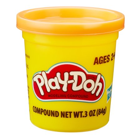 Play-Doh Modeling Compound Single Can in Orange](Halloween Playboy)