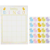 Way To Celebrate! Bingo Game with Stickers 10 pc Pack