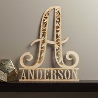 Family Name Personalized Wood Plaque