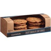 Marketside Crispy Chocolate Chip Cookies, 12 ct, 7.2 oz