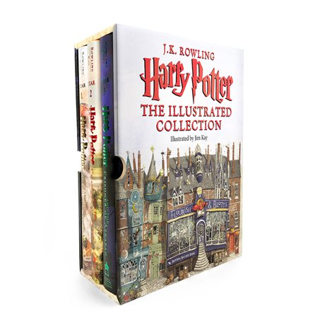 Harry Potter: Harry Potter: The Illustrated Collection - Harry Potter Halloween Decorations Ideas
