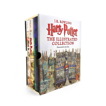 Harry Potter: Harry Potter: The Illustrated Collection](Harry Potter Party Ideas)