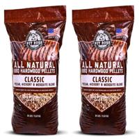 (2 pack) Pit Boss Classic Blend BBQ Grilling Pellets - 30 lb Resealable Bag