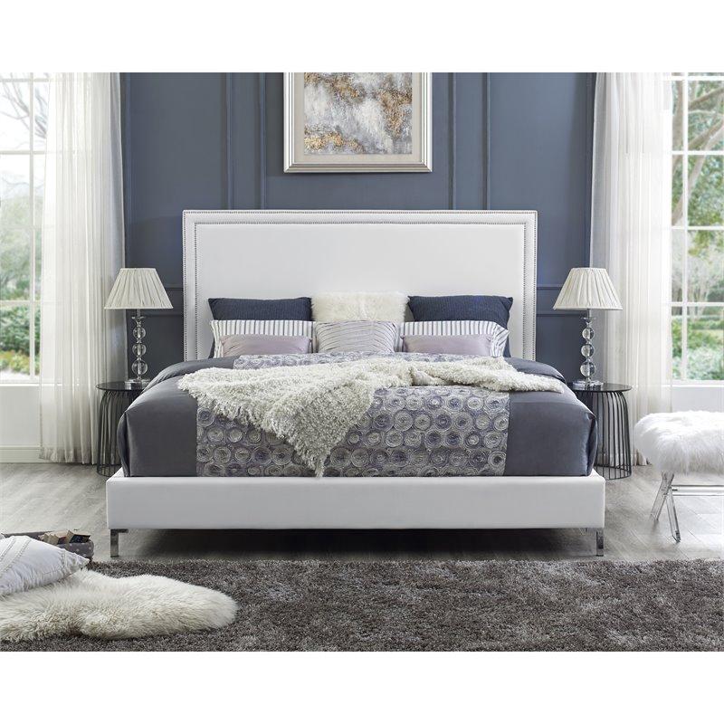 King Size Platform Bed Frame
