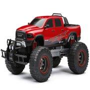 New Bright 1:12 Scale Radio Control 4x4 Ram Trx Truck - Red