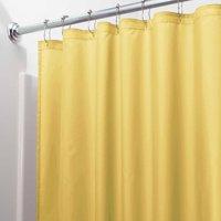 "InterDesign Waterproof Fabric Shower Curtain Liner, Standard 72"" x 72"", Slate Blue"