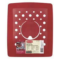 "Rubbermaid 2993-AR RED Antimicrobial Small Sink Mat, 11-1/2"" x 13-1/2"""