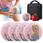 Boo Boo Buddy (4 Pack) Reusable Cute Kids Cold Ice Packs For Injuries First Aid Therapy Lunch Boxes Bulk