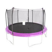 Skywalker Trampolines 15-Foot Trampoline, with Enclosure, Purple