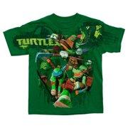 de0c5d7a4c8d9 Toddlers Teenage Mutant Ninja Turtles Battle Green T-Shirt