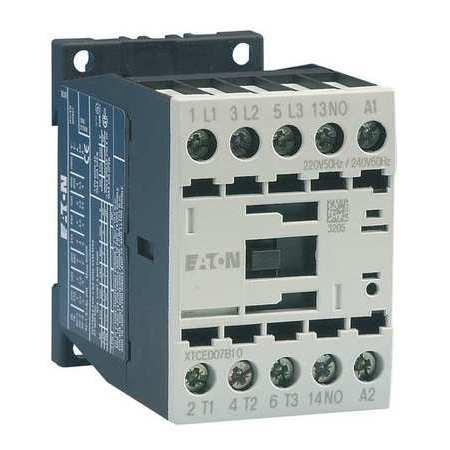 EATON XTCE012B01T 24VAC Non-Reversing IEC Magnetic Contactor 3P 12A