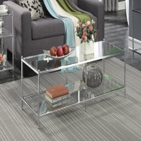 Convenience Concepts No Tools Royal Crest Coffee Table