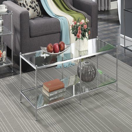 Convenience Concepts No Tools Royal Crest Coffee Table, Multiple Finishes