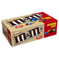 M&M's Almond Milk Chocolate Candy Sharing Size, 2.83 Oz., 18 Count