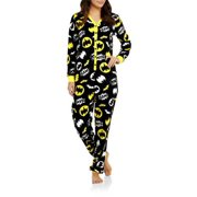5f74fcd80e Ladies Union Suit One Piece Pajama With Butt Flap
