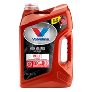 Valvoline? High Mileage with MaxLife? Technology SAE 10W-30 Synthetic Blend Motor Oil - Easy Pour 5 Quart