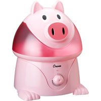 Crane Ultrasonic Cool Mist One Gallon Humidifier, Pig