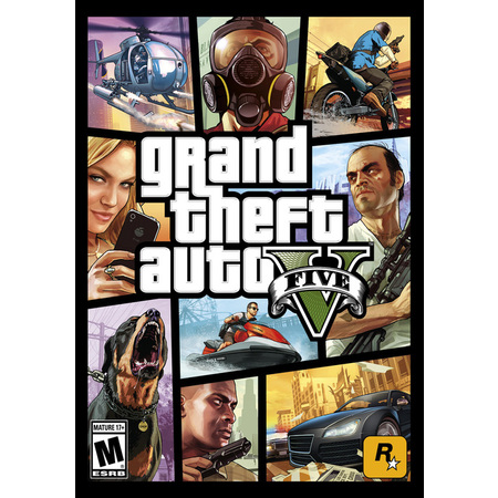 Grand Theft Auto V, Rockstar Games, PC, [Digital Download],